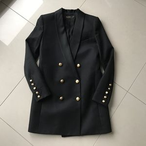 Balmain x H&M tuxedo blazer/dress